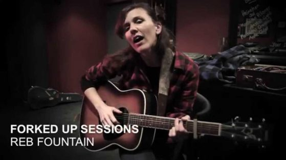 Reb Live singing The Truth About Us on Forked Up Sessions